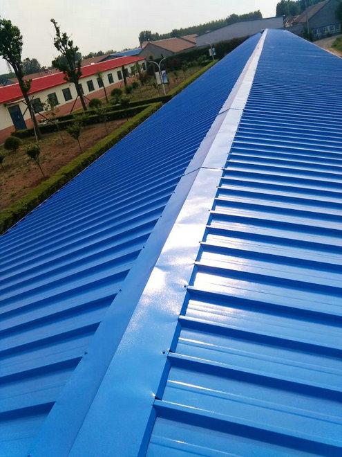 山东钢结构彩钢瓦厂房 彩钢瓦车间屋面翻新涂料厂家 技术指导