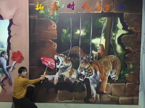 北京3d立体画手绘