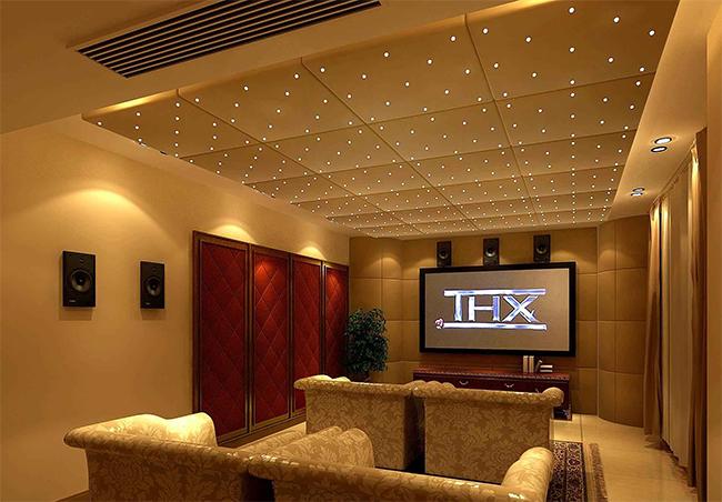 上海维恰,致力于打造超赞家庭影院设计!案例效果图欣赏
