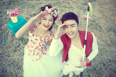 石家庄最专业婚纱摄影,薇薇新娘结婚照