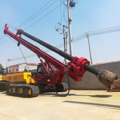 40米深机锁杆旋挖钻机型号LD-5120