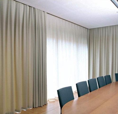 青岛办公窗帘哪家最好新时空升降会标公司都认可图片