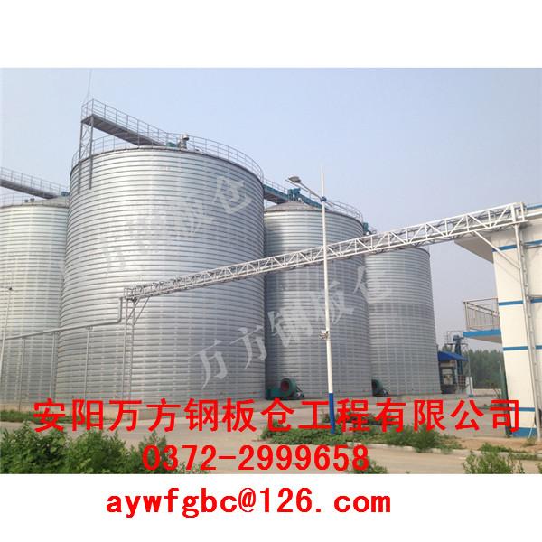 与钢筋混凝土筒仓相比,钢板仓具有许多优点.