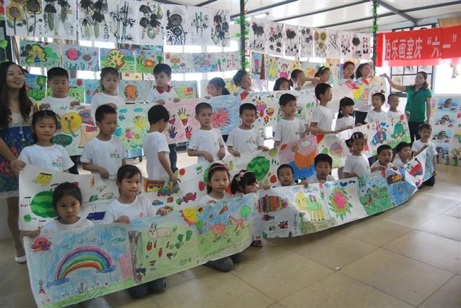 而是要通过绘画活动培养他们的有益兴趣图片
