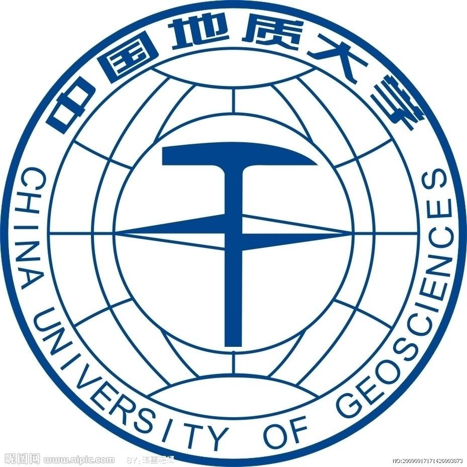 河北地质大学透明校徽