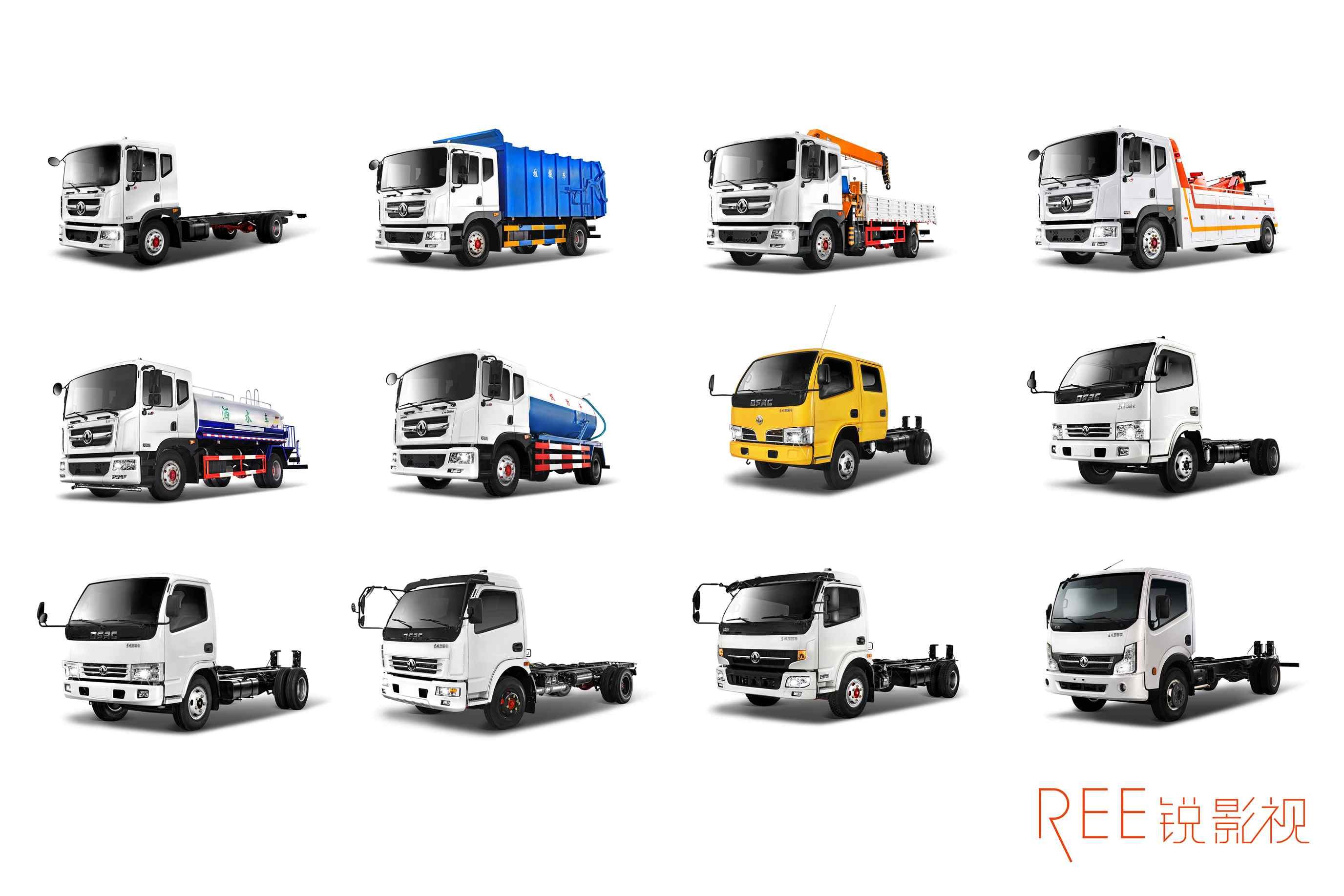 东风汽车广告图片拍摄