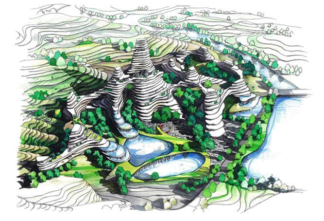 郑州景观画培训,手绘墙画培训,手绘考研培训基地