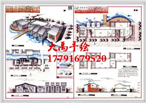 西安大禹手绘-如何快速设计的表现