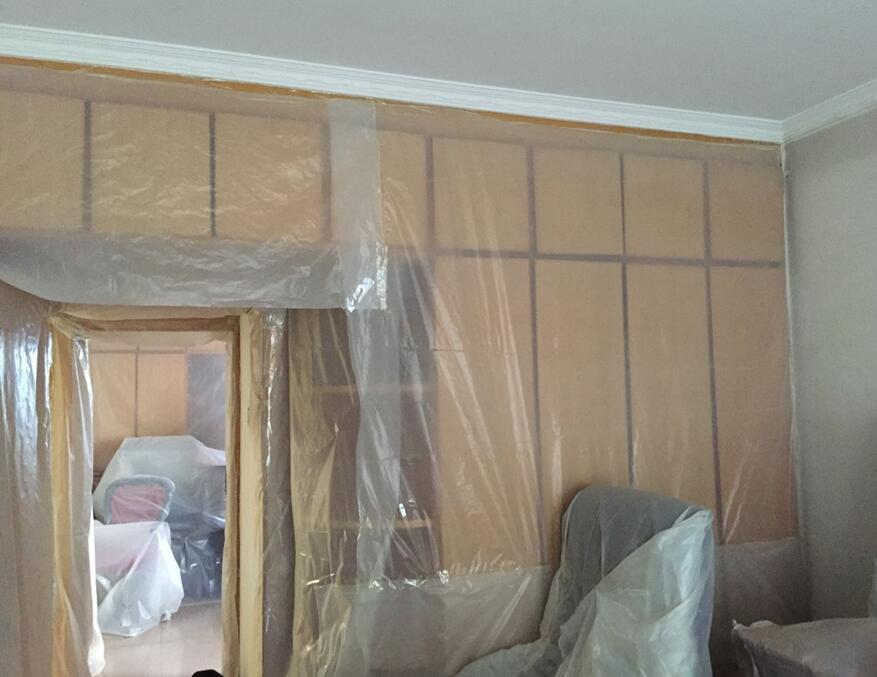 西安老房装修步骤,西安绿庭装饰旧房不搬家装修是怎么