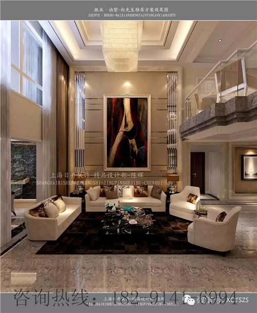 西安高新区室内装潢公司,别墅设计公司,复试装修效果图高清图片