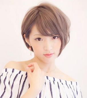陕西新佳模特培训公司商讯:女生时尚发型短发,清爽时尚潮流范儿图片