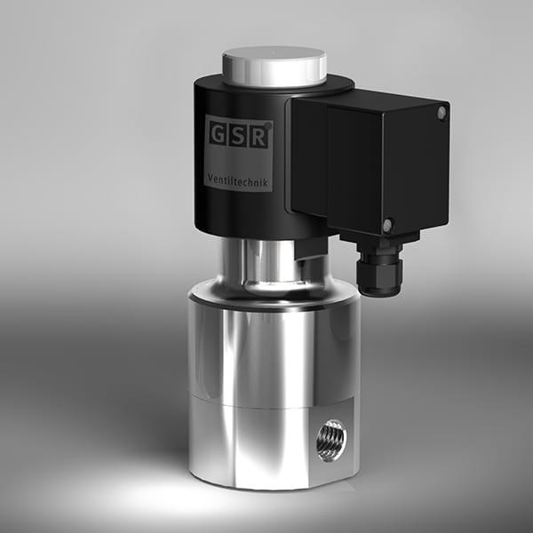gsr不锈钢高温电磁阀,耐高温,耐强腐蚀,使用寿命长图片