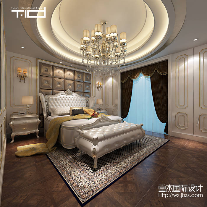 设计师:张冉熙 设计地点:奥林匹克4-341 300平米 设计风格:欧式 设计说明:本案是坐落于惠山区的奥林匹克花园联排别墅。在结构上充分借用了室外的空间,使室内的使用面积得到大大的扩大。本案是欧式 奢华风格,客厅的墙地面在设计上大量的采用了大理石和地砖,这样更方便日后的打理和使用。