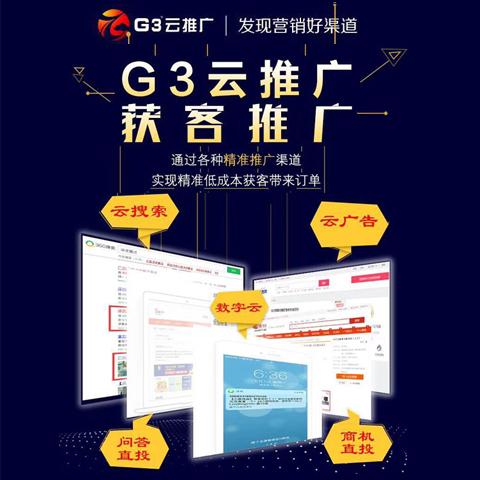 G3云推广功能-获客推广