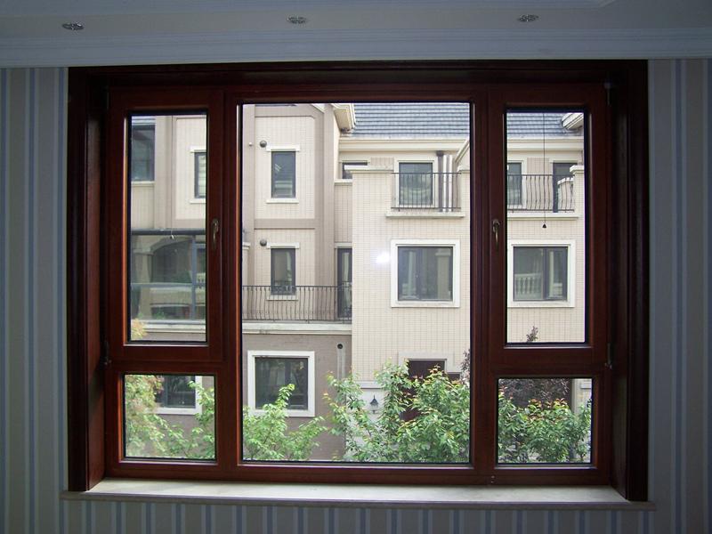 铝窗的结构图分解图