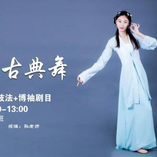 成年舞蹈培训提供古典舞课程-汉唐博袖技法 剧目