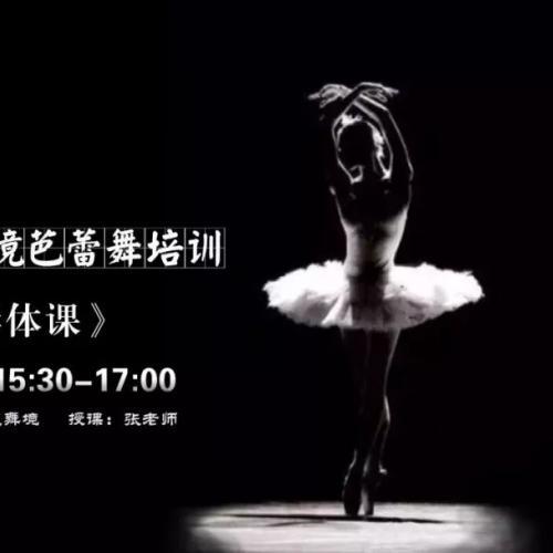 逍遥舞境周日气质芭蕾形体课-招生