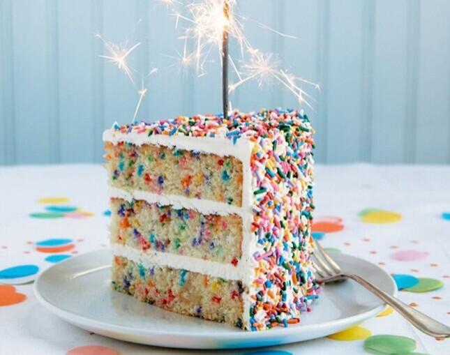 蛋糕花边挤法图片