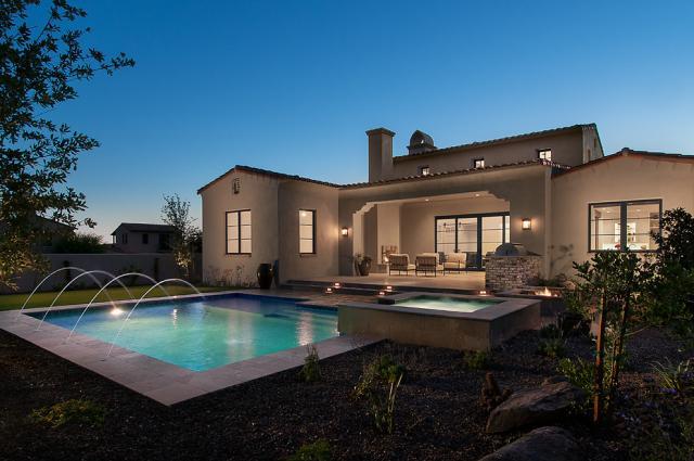泸州欧式别墅设计装修,就找上海应德装饰!轻型钢结构造价别墅图片