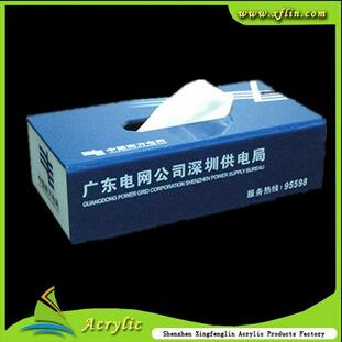 东莞最专业的亚克力纸巾盒生产商图片
