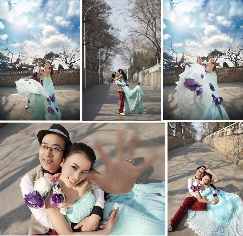 秦皇岛婚纱摄影秀摄影价格最低服务最