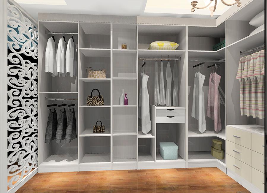 现代简约风格卧室衣柜设计效果图5