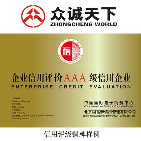 企业信用评级