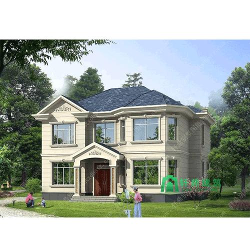 高端两层房屋设计图怎么卖_轩鼎别墅设计