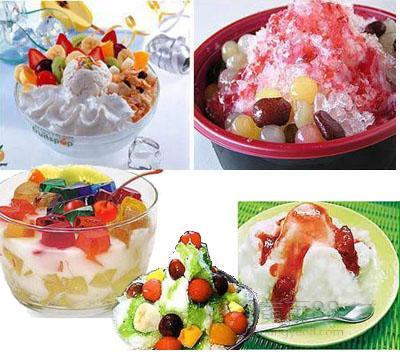 信阳哪培训冰淇淋 花式圣代 甜筒 冰淇淋哪教的好