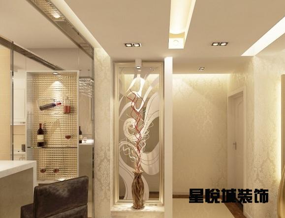 玄关隔断装修效果图南京哪家装饰公司有图片