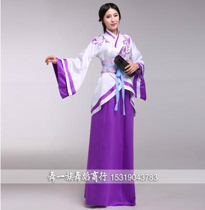 汉服琵琶袖样式