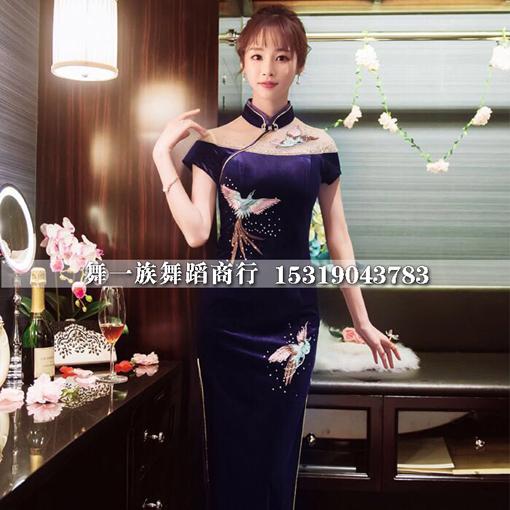 最新旗袍款式图片