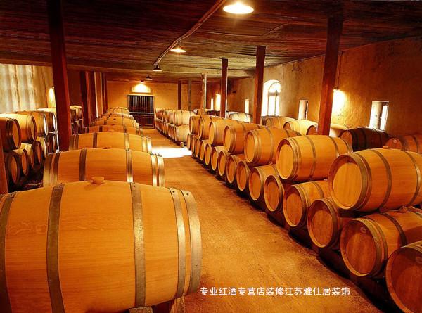 南京红酒庄的酒窖.   、注意,南京装修红酒庄设计应该明高清图片