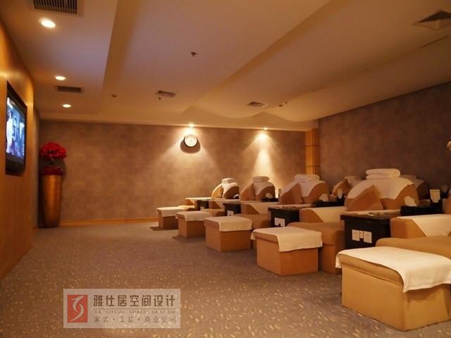 南京足疗店装饰灯光设计