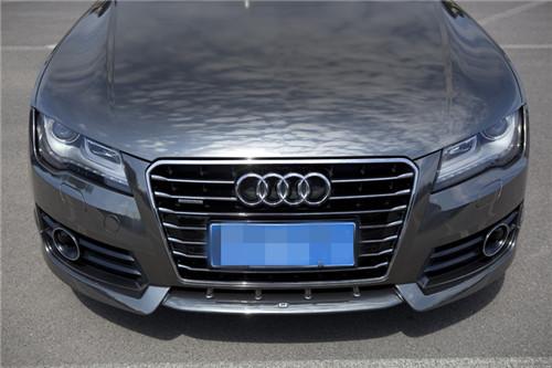 奥迪a7改装abt包围abt轮毂全车电镀钨钢高清图片