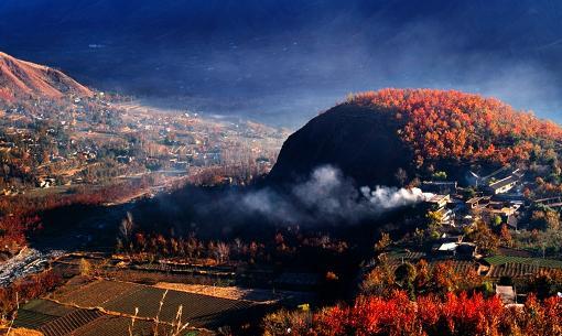 大美阿坝之春风景摄影