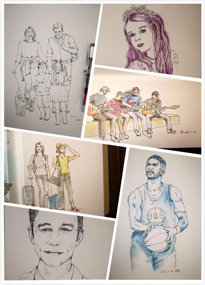 零基础在线学画画之零基础速写人物课程,将实现的您的绘画梦想.