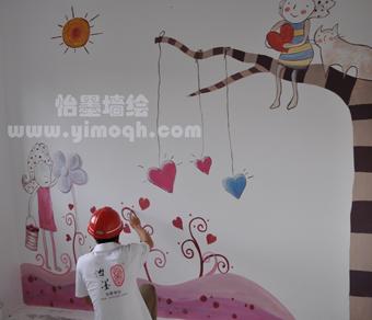 简洁创意手绘墙画制作的意义 佛山墙绘有限公司