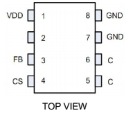 电源芯片U6115S充电器电源芯片方案银联宝科技一级代理商