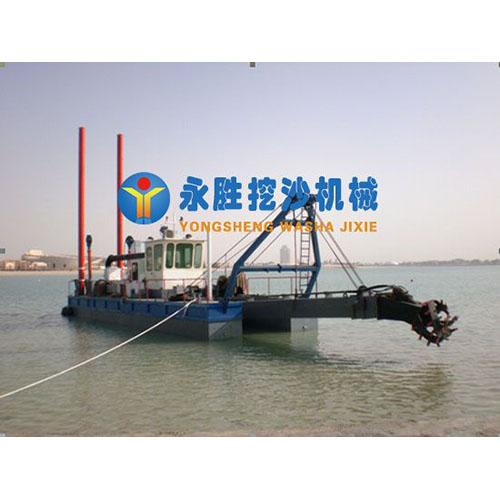 刚果金200方全液压/绞吸式抽沙船