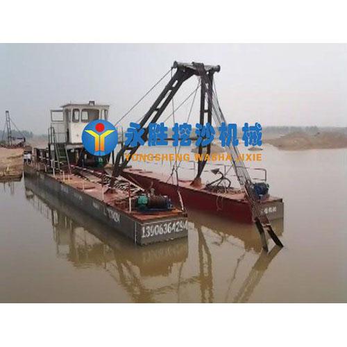 秦皇岛80方半液压/绞吸式抽沙船