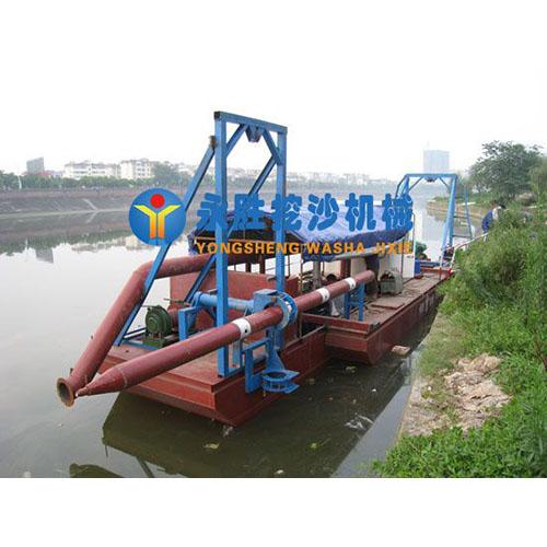 四川80方机械式绞吸式抽沙船