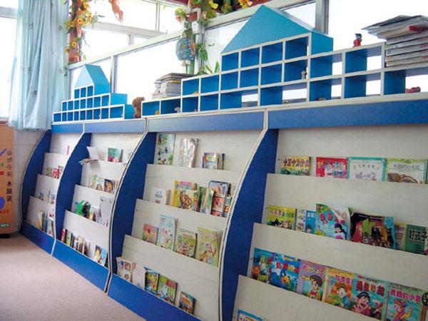 宝贝名称:儿童彩色防火板图书架 幼儿园专用图书收纳架 宝贝规格:80*