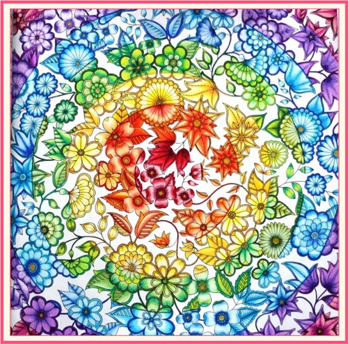 《秘密花园》优秀涂色作品交流探讨