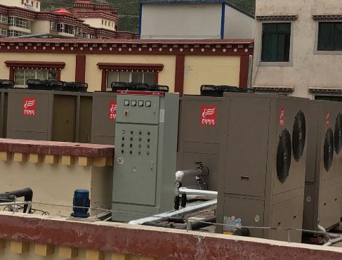 中山学校热水空气能热水器原理全球空气能采暖企业