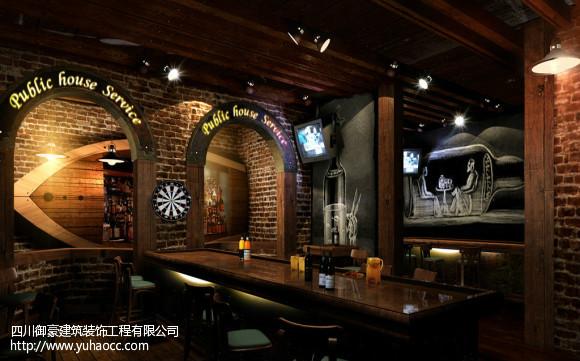 温江区烧烤店装修设计哪家价格合理?图片
