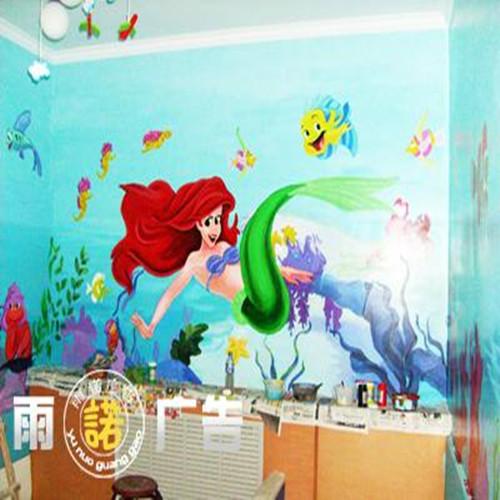 行唐专业幼儿园楼梯墙面绘画公司