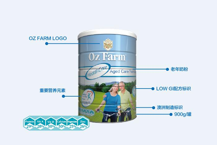 Oz Farm中老年配方奶粉都有哪些优势,你get到了吗?-焦点中国网