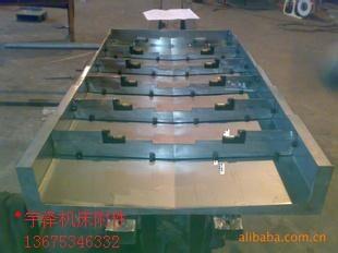 高质机床防护罩 机床导轨防护罩 钢板伸缩防护罩图片_14