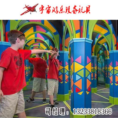 河南镜子迷宫设备厂家河南室内魔幻镜子迷宫价格